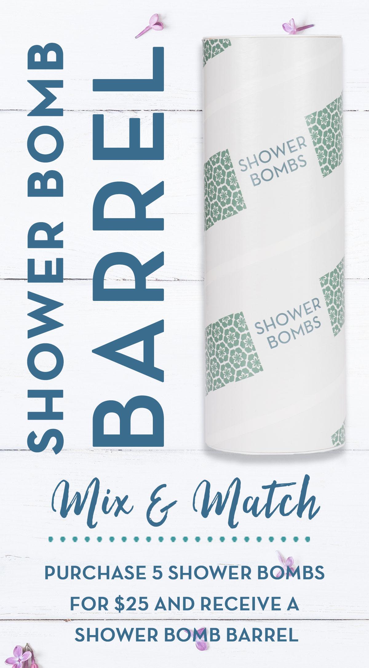 Shower Bomb Sidebar