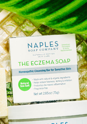 The Eczema Soap Sidebar Image
