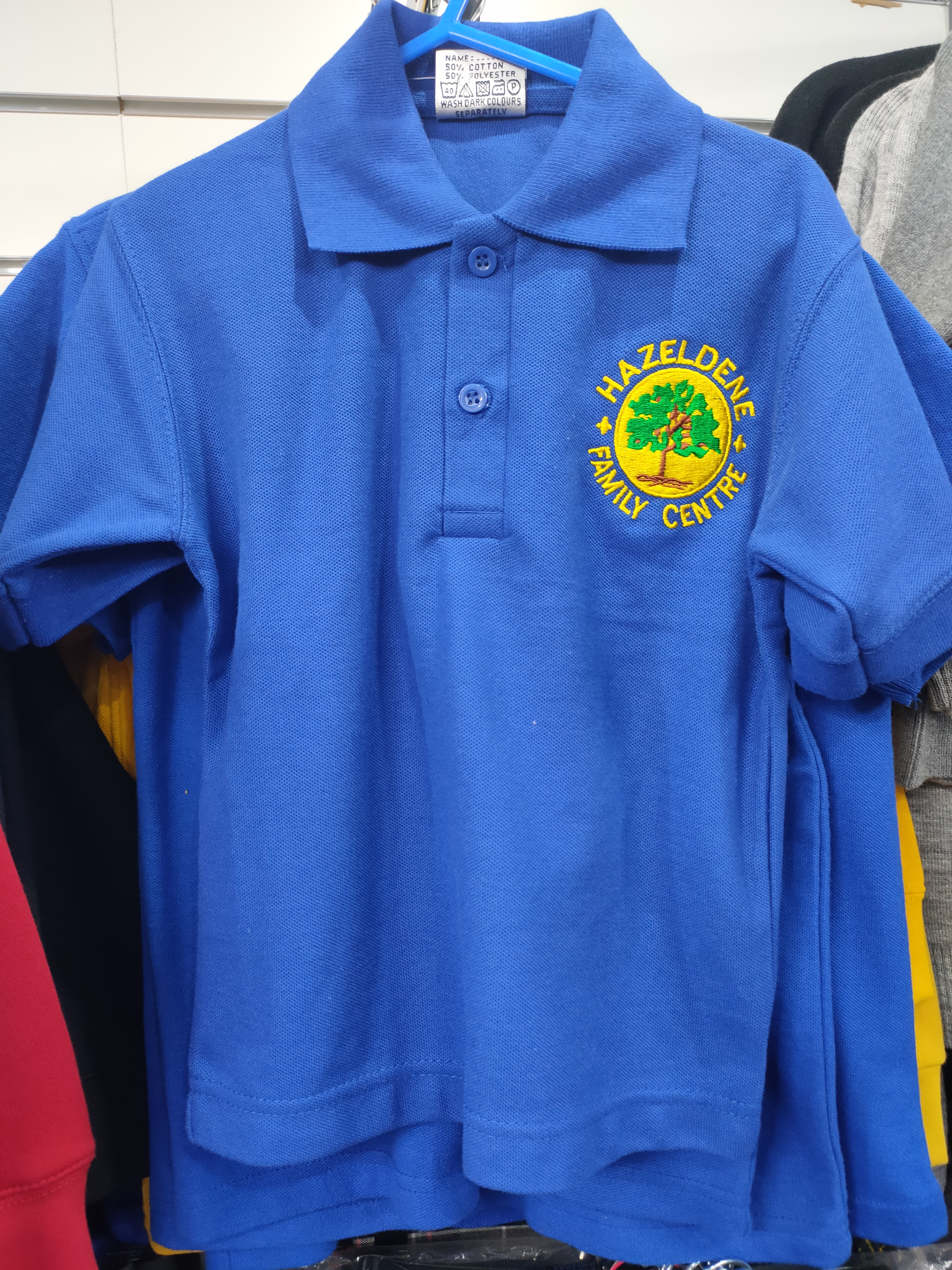 Hazeldene Family Centre Poloshirt (Royal Blue)