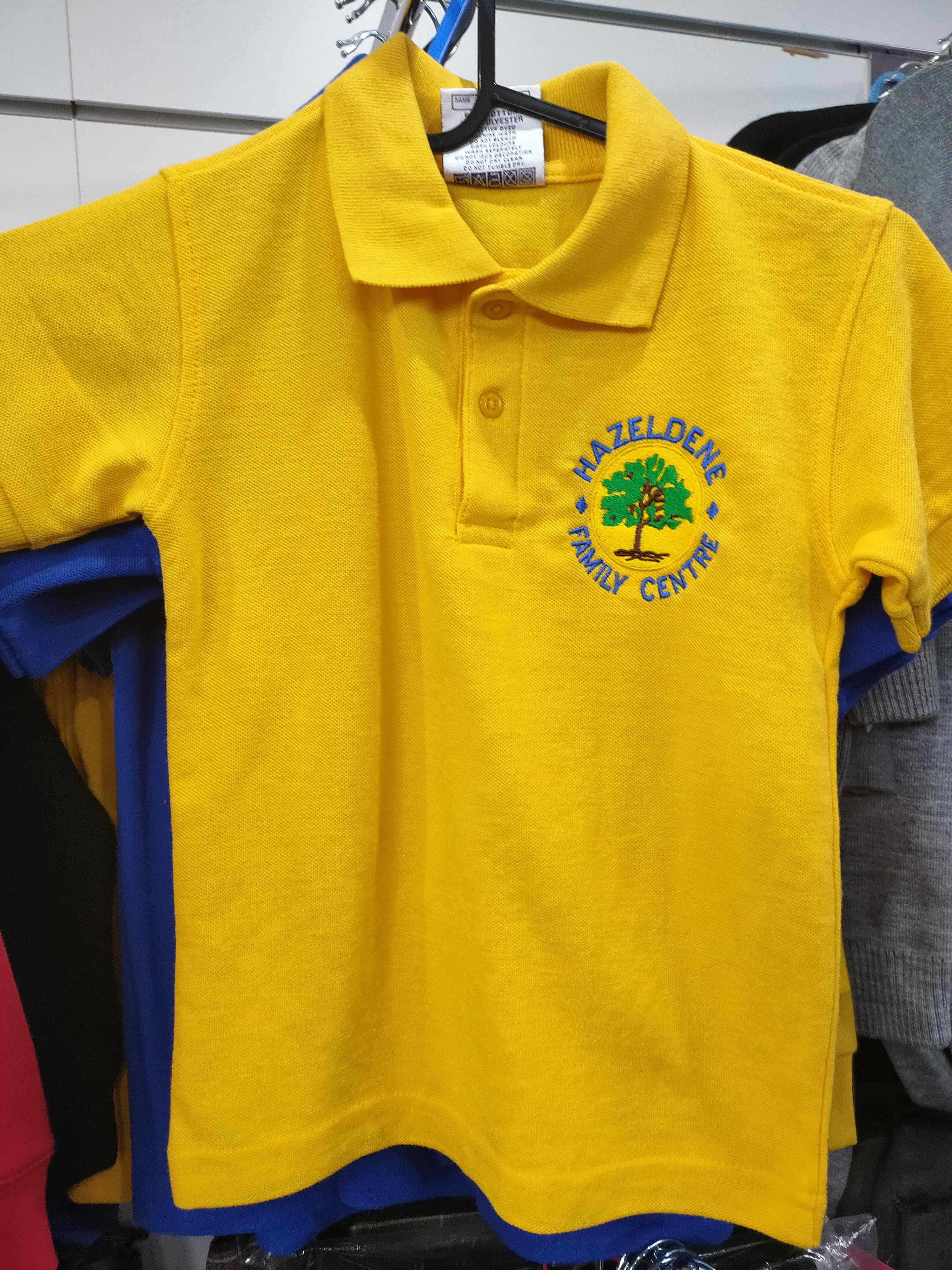 Hazeldene Family Centre Poloshirt (Gold)
