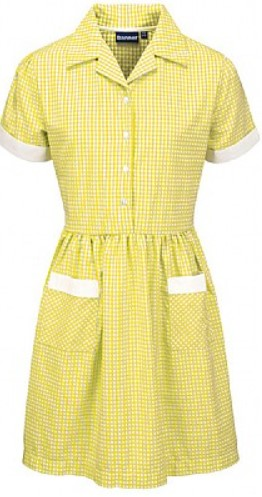 Gingham Corded Summer Dress (Multiple Colours)