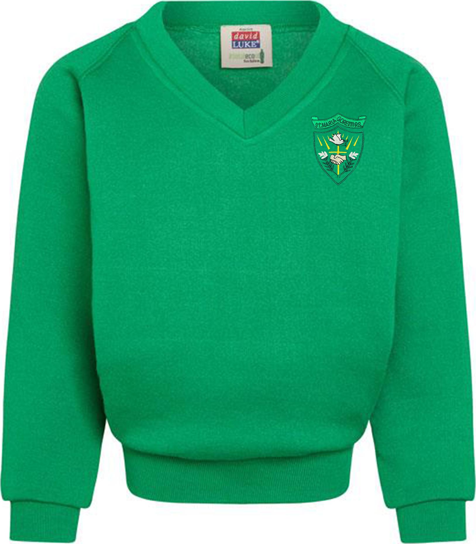 St. Maria Goretti Primary V Neck Sweatshirt