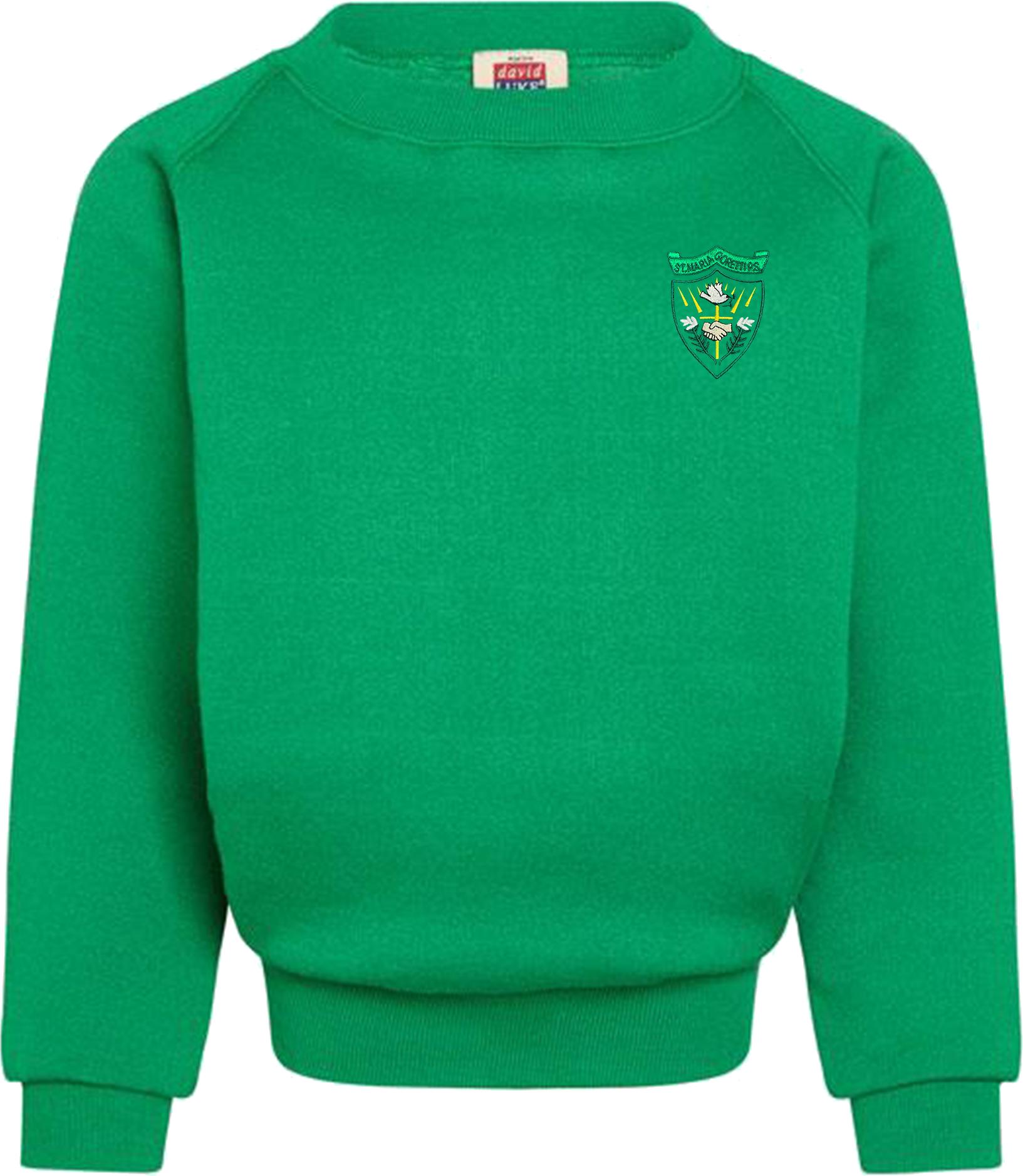 St. Maria Goretti Primary Round Neck Sweatshirt