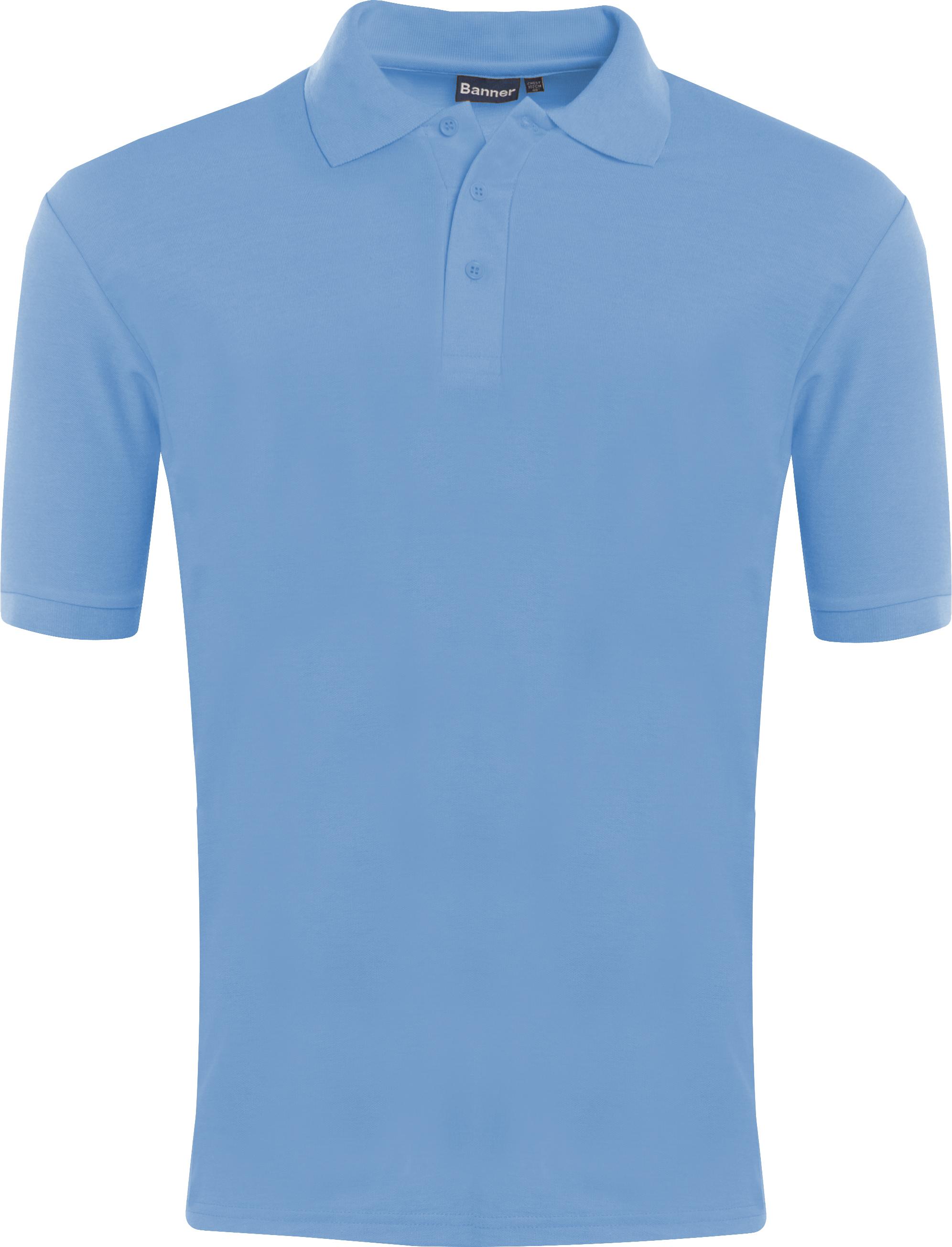 Braidbar Nursery Poloshirt (Sky Blue or White)