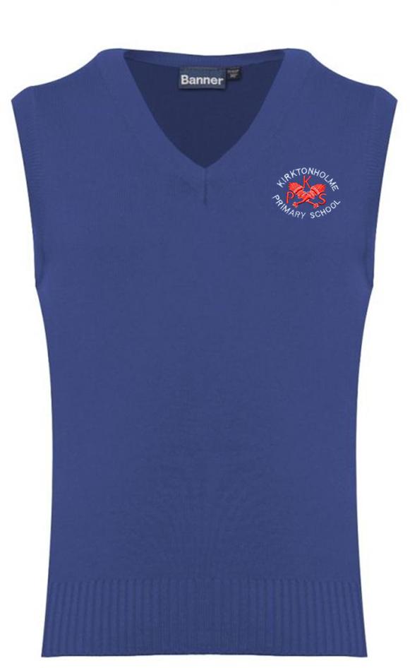 Kirktonholme Primary Knitted Slipover (Tank Top)