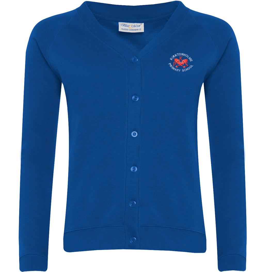 Kirktonholme Primary Sweatshirt Cardigan