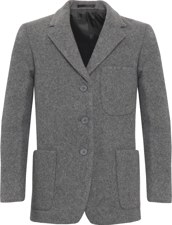 Grey Wool Blazer (Boys)