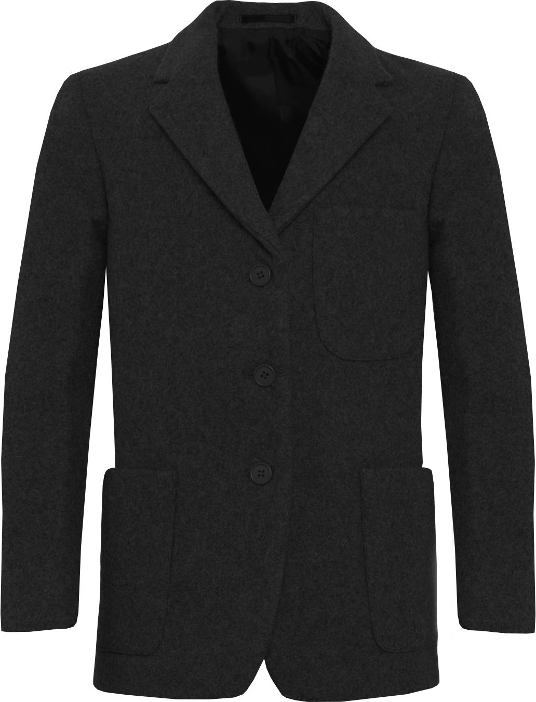 Black Wool Blazer (Girls)