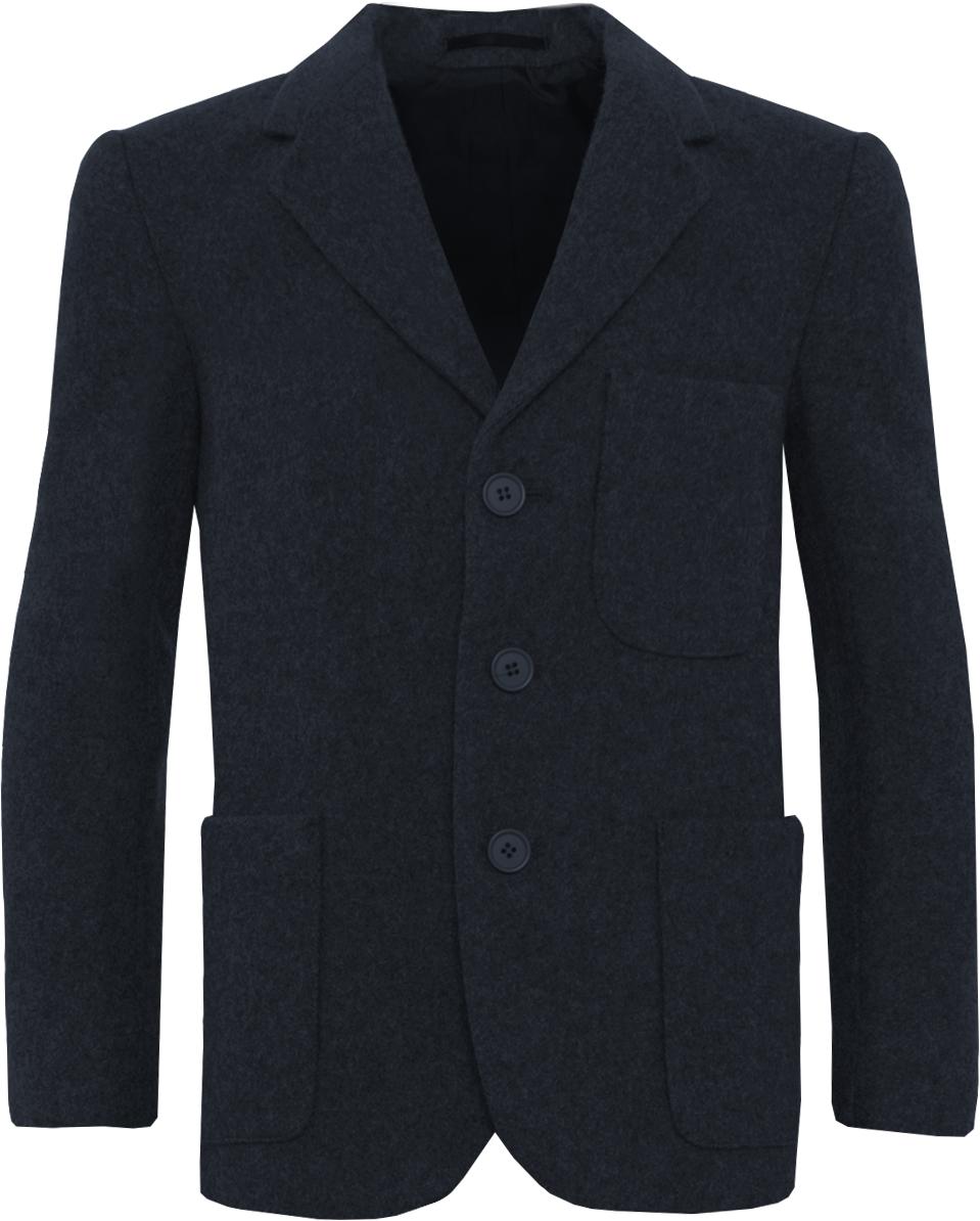 Navy Wool Blazer (Girls)