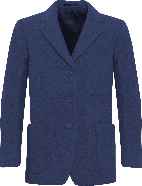 Royal Blue Wool Blazer (Girls)