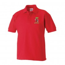 Giffnock Nursery Poloshirt (Red)