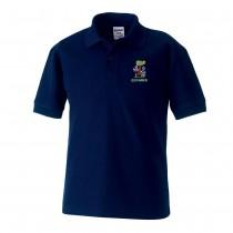 Giffnock Nursery Poloshirt (Navy)
