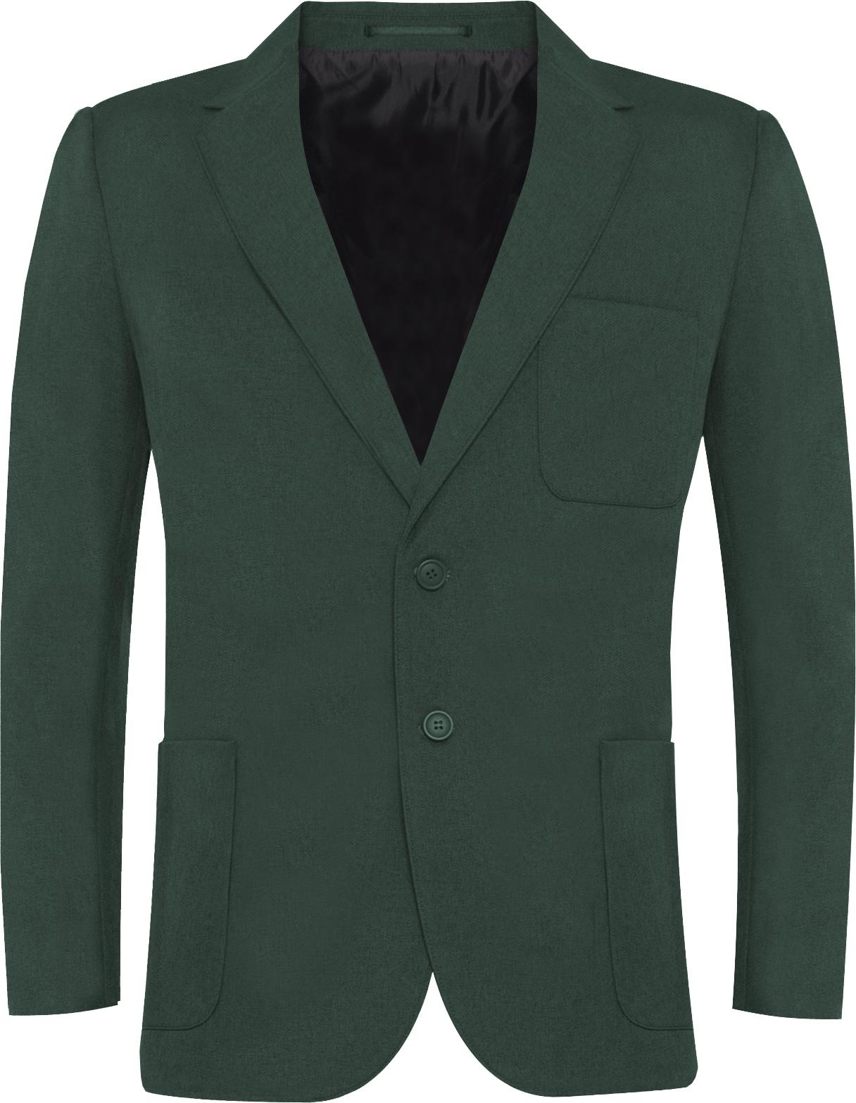 Green Polyester Blazer (Boys)