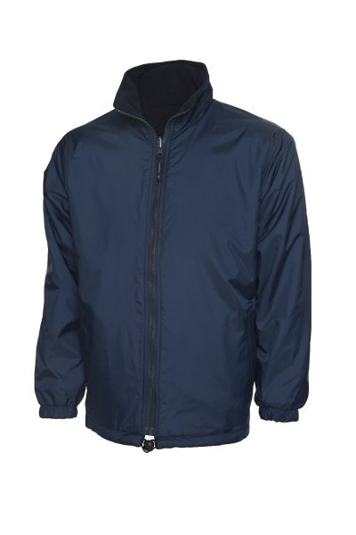 Eaglesham Primary School Reversible Waterproof Fleece Lined Jacket (Navy)