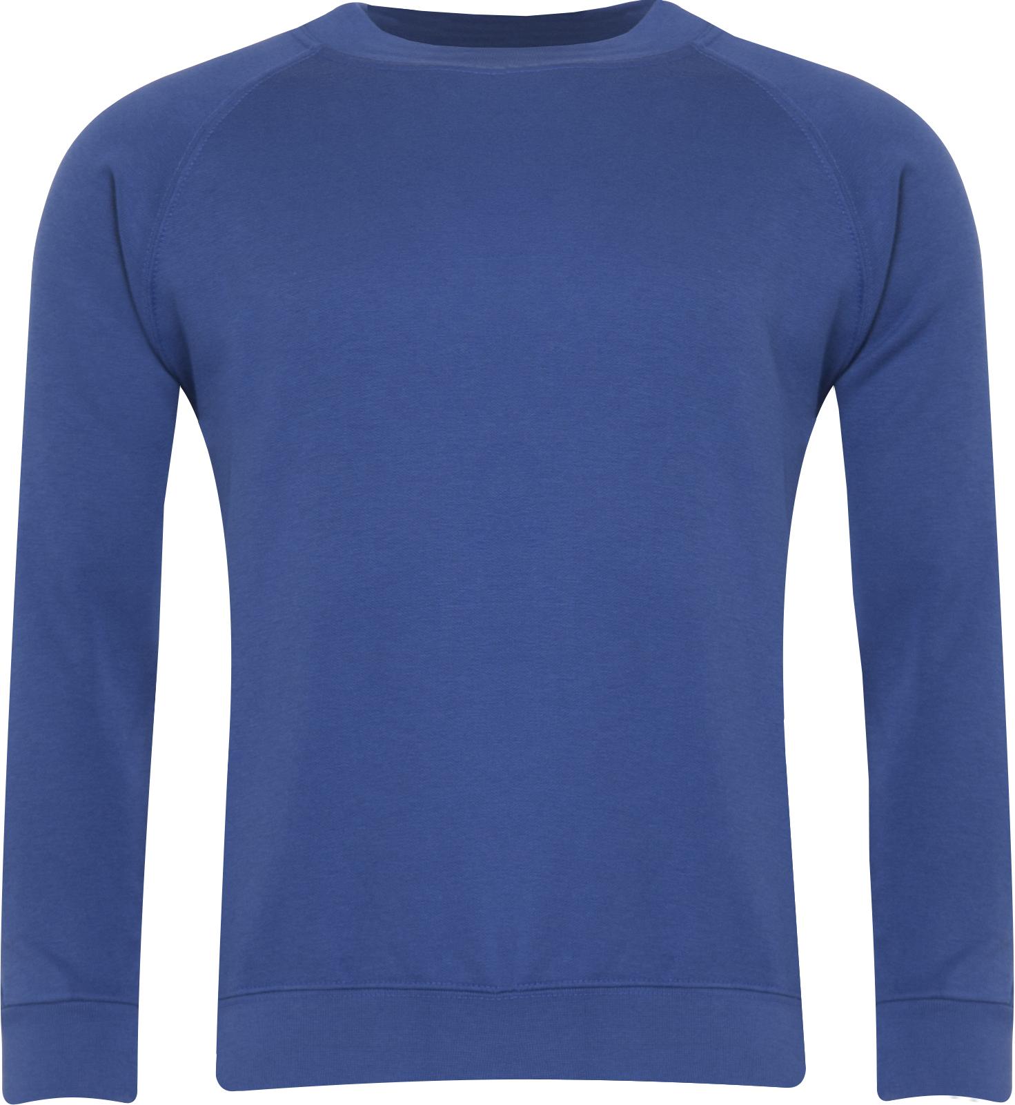 Round Neck Sweatshirt (Premium) 50% Cotton 50% Polyester