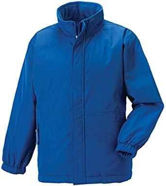 Hillview Primary School Heavy Duty Waterproof Reversible Fleece Lined Jacket (Royal)