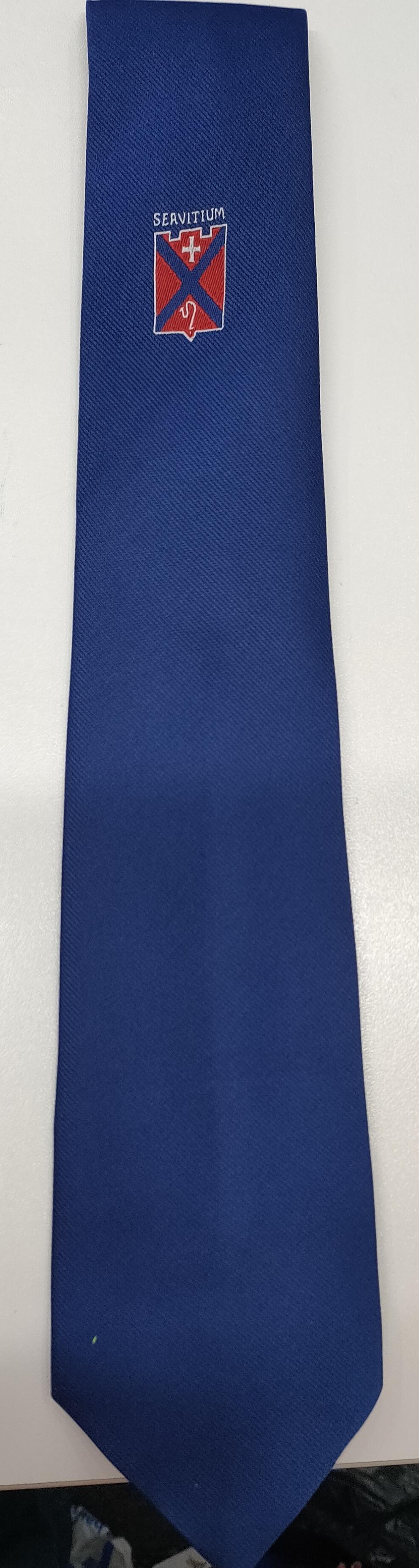 Mearns Castle High School S4 - S5  Tie (Blue)