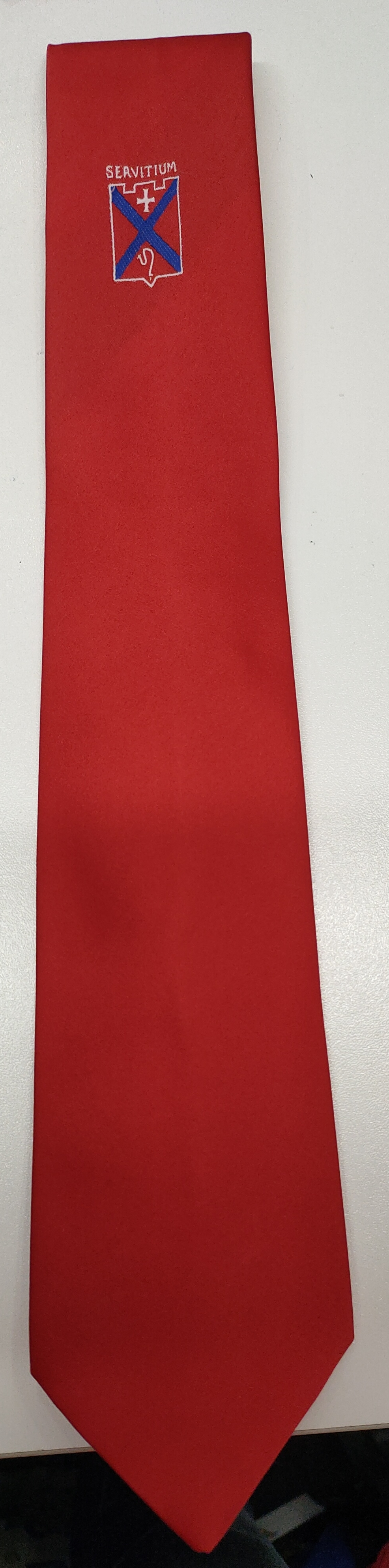 Mearns Castle High School S1 - S3 Tie (Red)