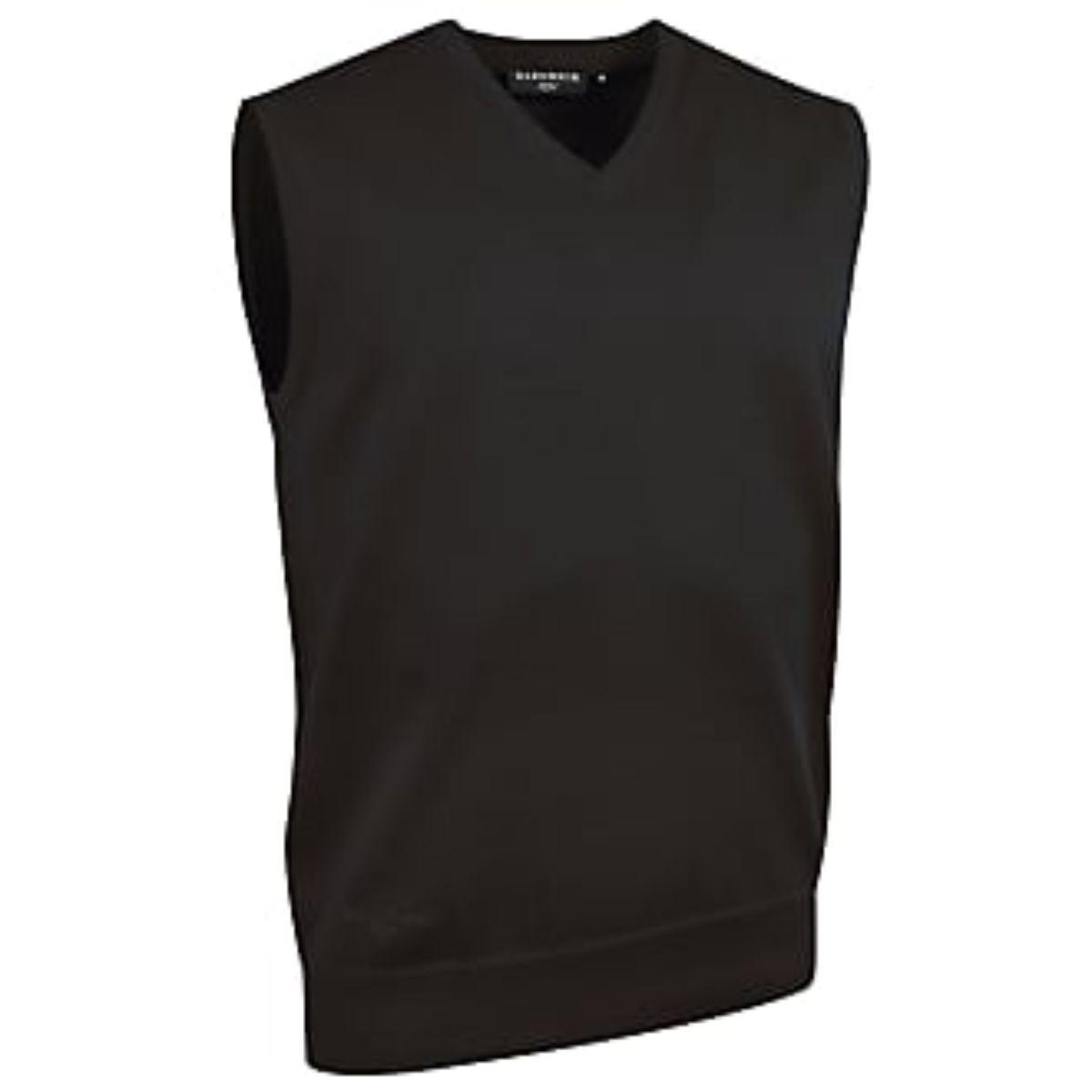 Black Knitted Tank Top (50/50) (Slipover)