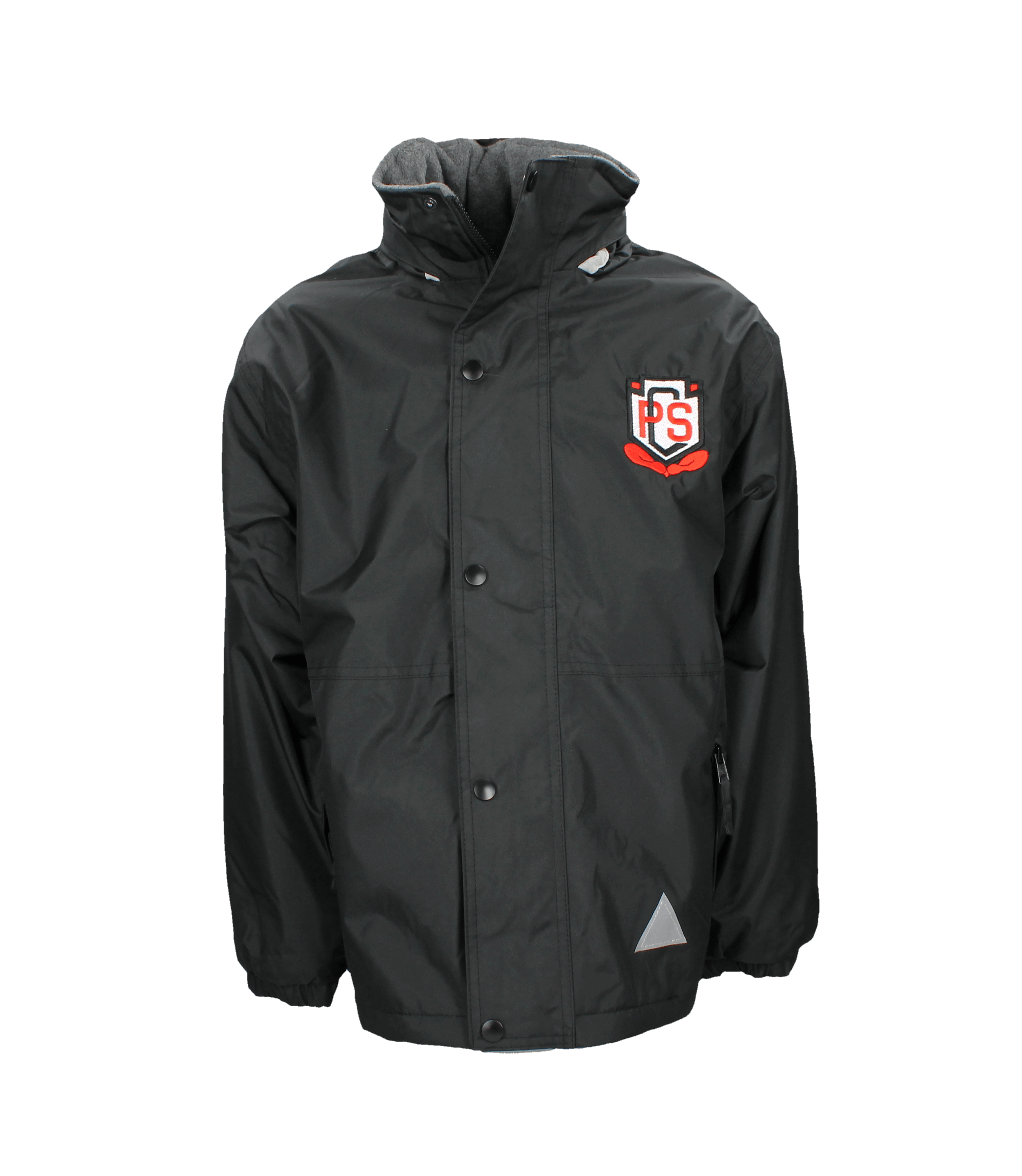 Carolside Reversible Fleece Lined Jacket (Red or Black)