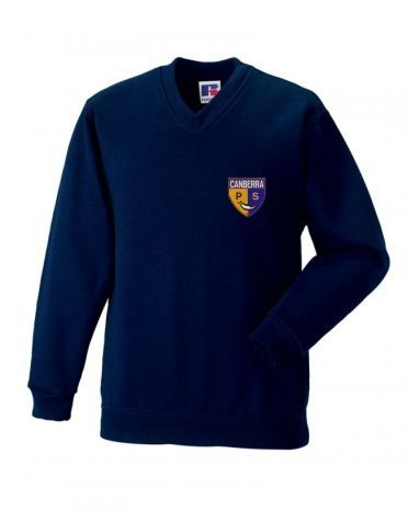 Canberra Primary V Neck Sweatshirt