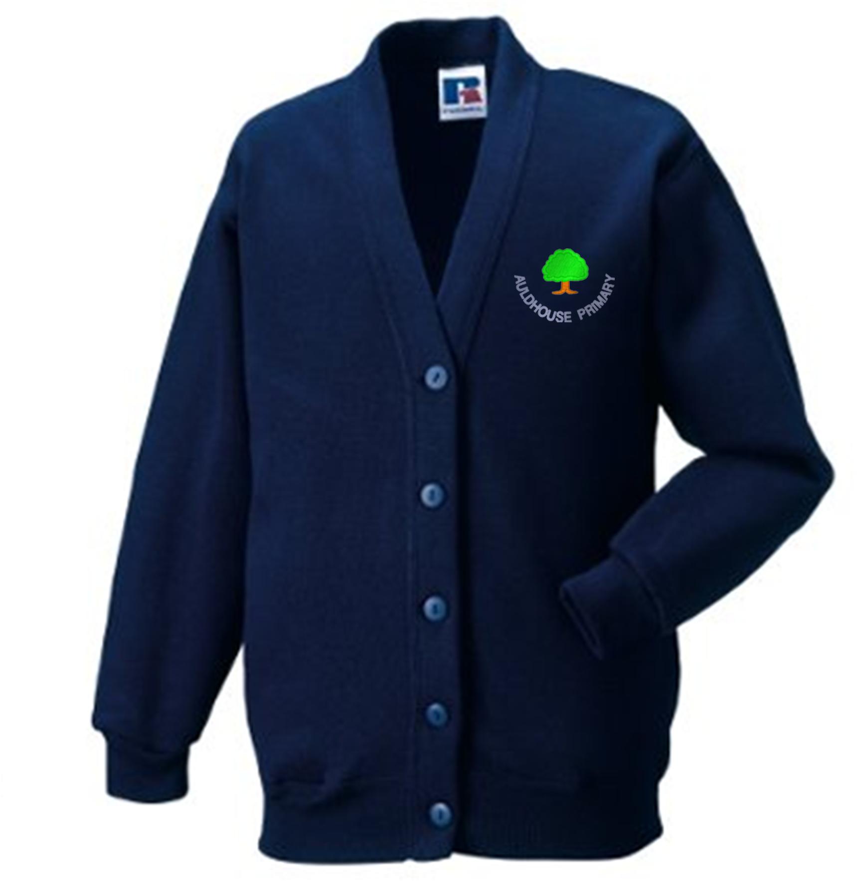 Auldhouse Primary Sweatshirt Cardigan