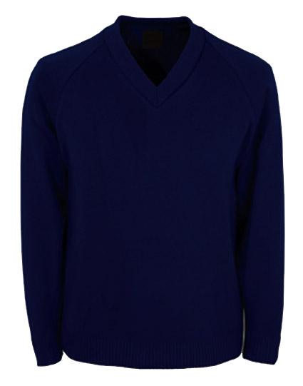 Mossneuk Primary Knitted V Neck Jumper