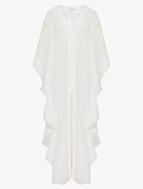Kaftan in off-white cotton
