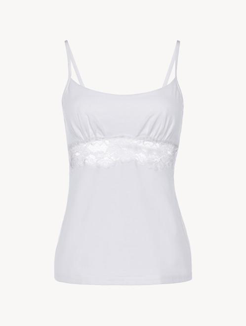 White cotton camisole