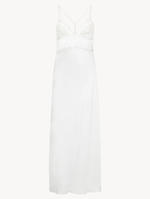 White long nightdress