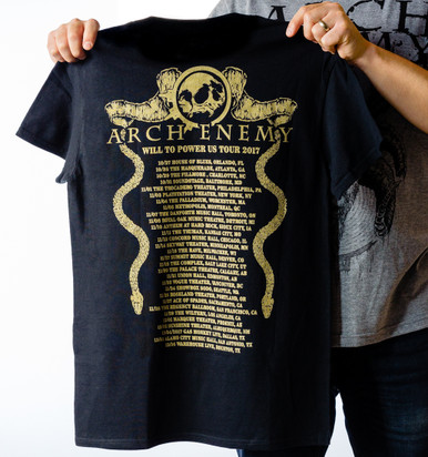 Will to Power Date Back Tee (Limited)