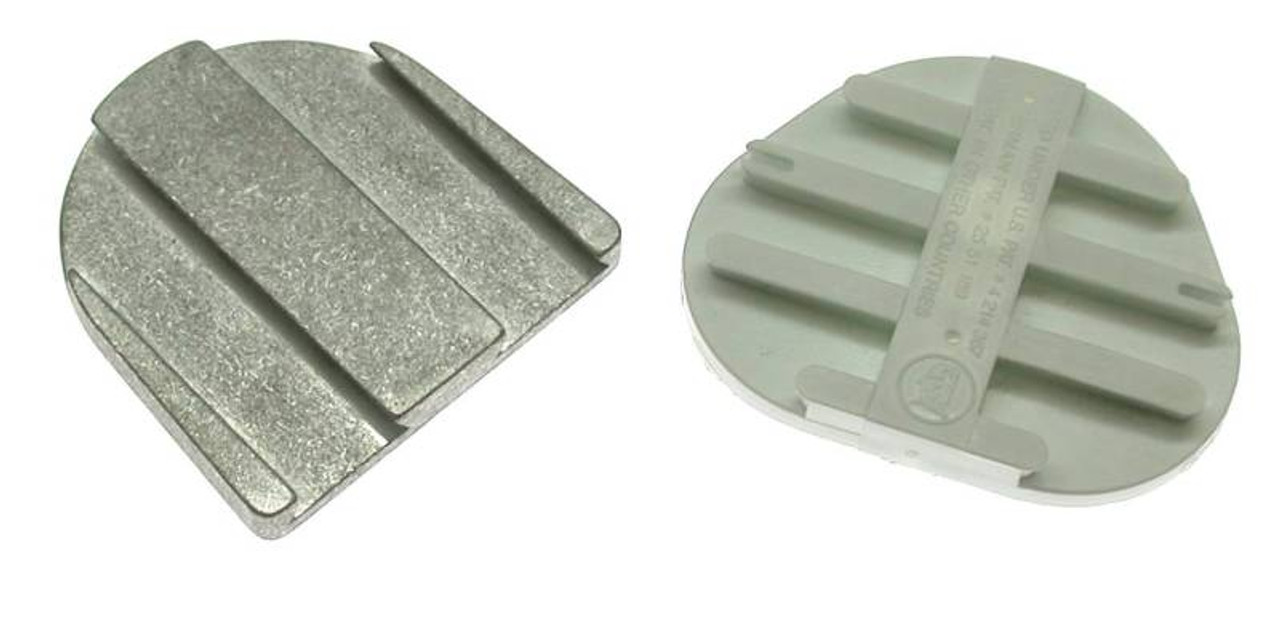 Poly Base Plates, Metal