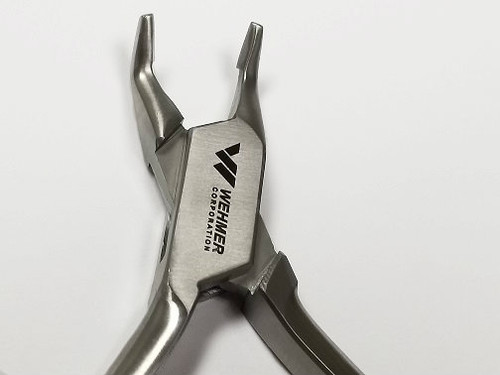 Ortho. Bracket Removal Plier / 50° Angled Tip / Short Handle - #18639
