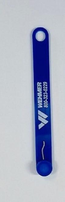 RPE Safety Key - Blue/Blue (1)