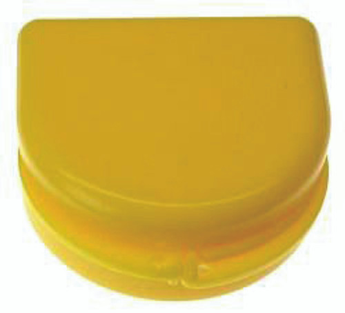 Yellow Retainer Cases - 25 pk