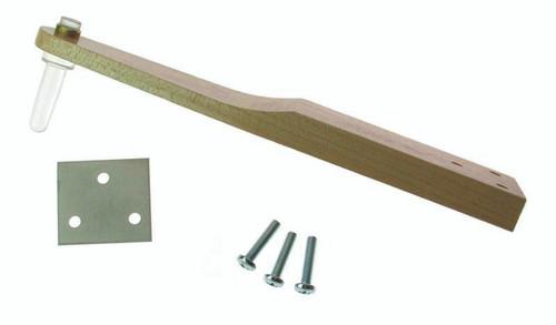 Wood Bracket w/plastic earpost (pair)