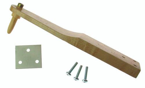 Wood Earpost Bracket w/wood earpost (pair)