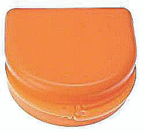 Orange Sparkle Retainer Cases - 25 pk