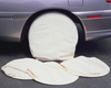 """Astro Tools Canvas Wheel Covers wired - up to 18"""" wheel"""