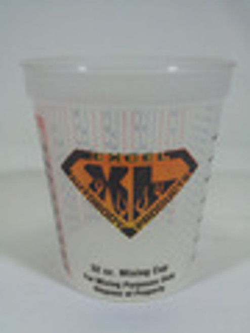 Excel 32 Ounce Plastic Measuring Cup, Case of 100