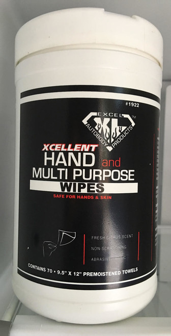 Excel Multi Purpose Hand Wipes, 70 sheets