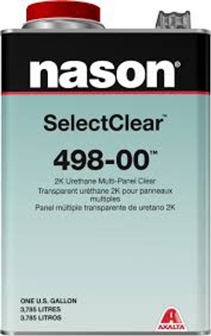 Nason 498-00 2K Urethane Multi-Panel Clearcoat
