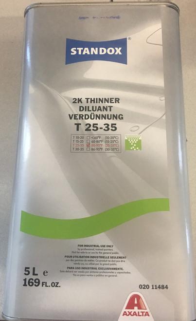 Standox  2K T25-35 Thinner, 5 ltr.
