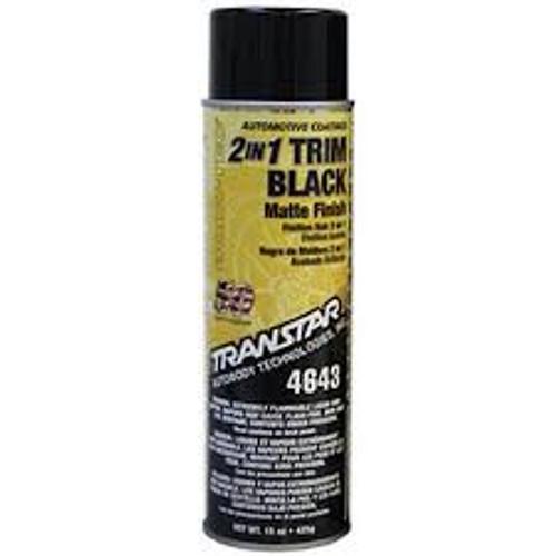 Transtar 4643   2:1 Trim Black, Matte Finish