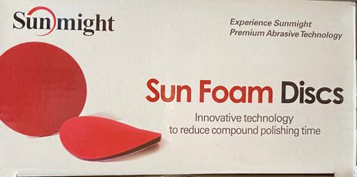 """SUN 96120  Sunmight Foam Discs, 3"""" velcro, 1000 grit  20 ct."""