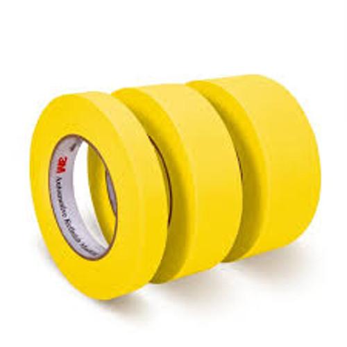 """3M Automotive Masking Tape - 3/4"""" yellow"""