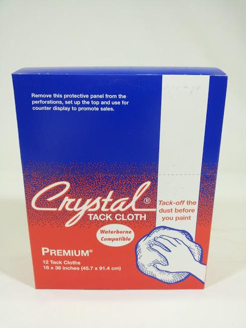 Bond Corp Crystal Tack Cloth Crystal, Waterborne Compatible, Premium Tack Cloth