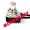 SPST Momentary Foot Switch - Soft Touch - Normally Open - Short Shaft - Pre-Wired