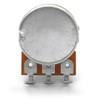 Rear view of 16mm potentiometer - Solder Lug