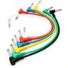 Guitar Pedal Patch Cable Set - 6 pieces